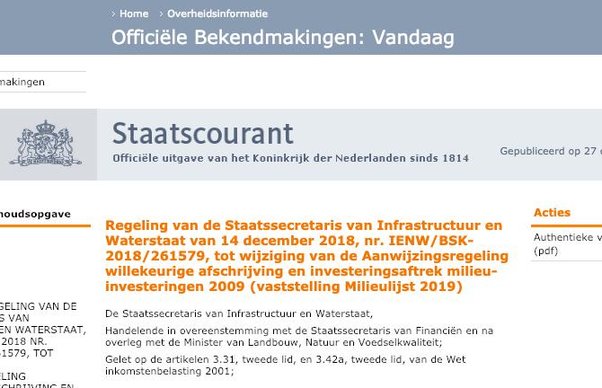 publicatie-milieulijst-2019-behoudt-belastingvoordeel-breeam-certificering